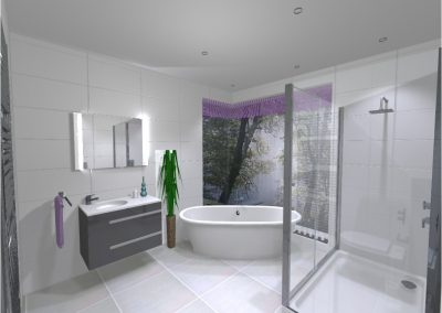 3D Render Bathroom Design2