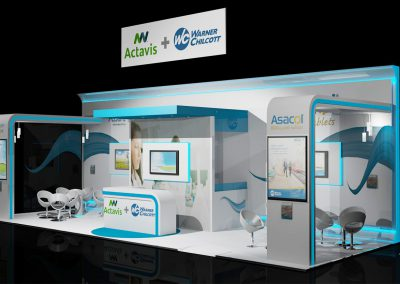 3D Render Exhibition Design
