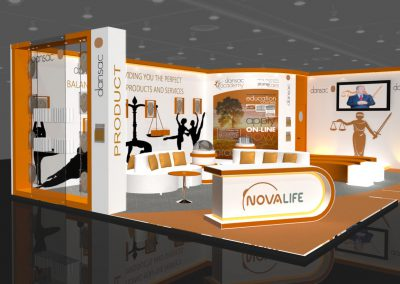 3D Render Exhibition Design3
