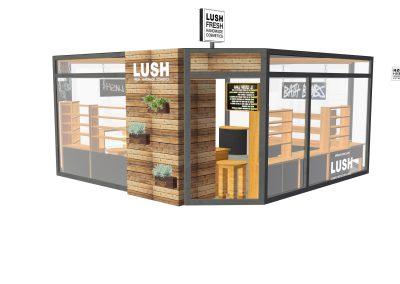 3D Render Store Design