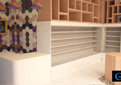 3D Render Store Design2