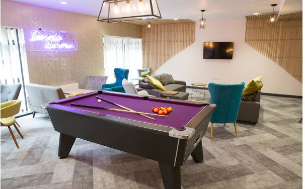 Common Room -Pool Table